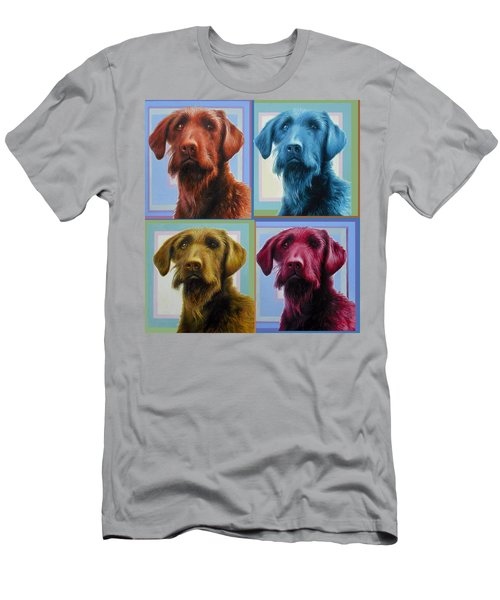 Savannah The Labradoodle Men's T-Shirt (Athletic Fit)