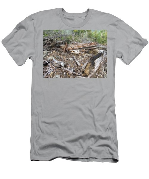 Men's T-Shirt (Slim Fit) featuring the photograph Save The Last Bite For Me by Marie Neder