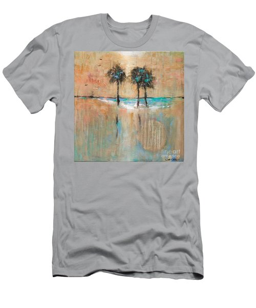 Sb Park Men's T-Shirt (Slim Fit) by Linda Olsen