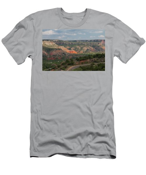 Scenic View Of Palo Duro Canyons Men's T-Shirt (Athletic Fit)