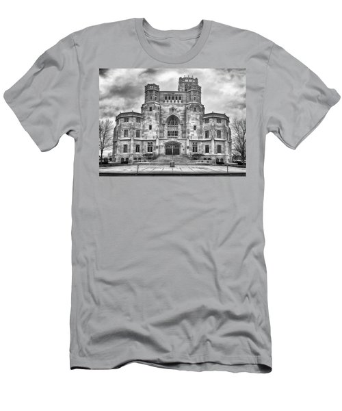 Men's T-Shirt (Athletic Fit) featuring the photograph Scottish Rite Cathedral by Howard Salmon