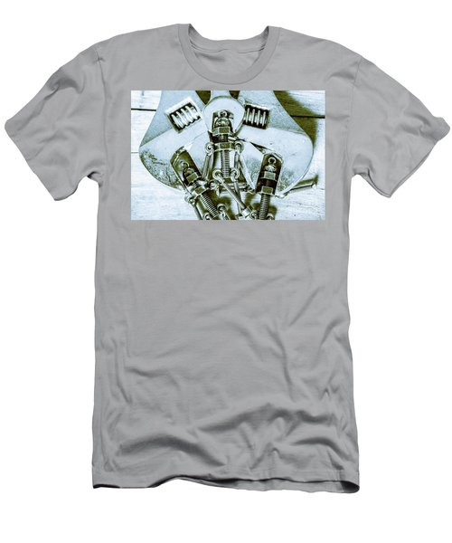 Screwed Blockchain Bots Men's T-Shirt (Athletic Fit)
