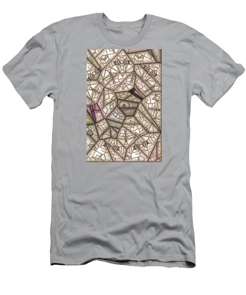Scribed Men's T-Shirt (Slim Fit) by Ron Bissett