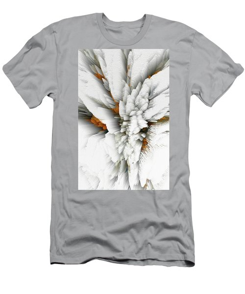 Men's T-Shirt (Athletic Fit) featuring the digital art Sculptural Series Digital Painting 05.072311 by Kris Haas