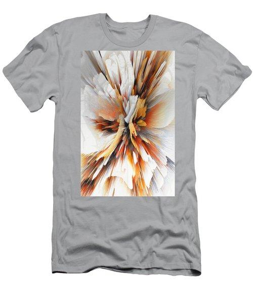 Men's T-Shirt (Athletic Fit) featuring the digital art Sculptural Series Digital Painting 22.120210eext290lsqx2 by Kris Haas