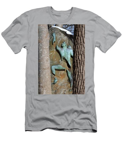 Sculpture Stony Brook New York Men's T-Shirt (Athletic Fit)