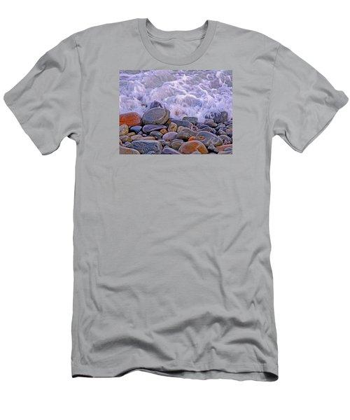 Sea Covers All  Men's T-Shirt (Slim Fit) by Lynda Lehmann