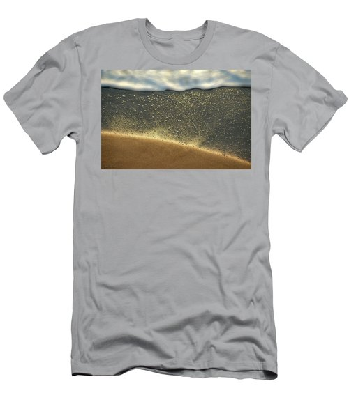 Sea Foam #2 Men's T-Shirt (Slim Fit) by Glenn Gemmell