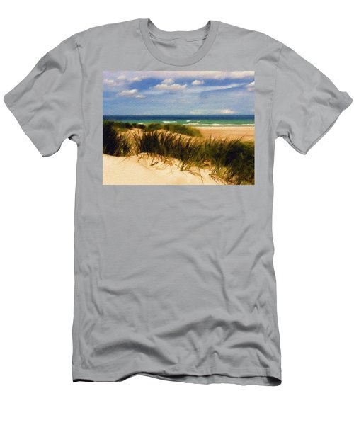Sea Grass Men's T-Shirt (Athletic Fit)