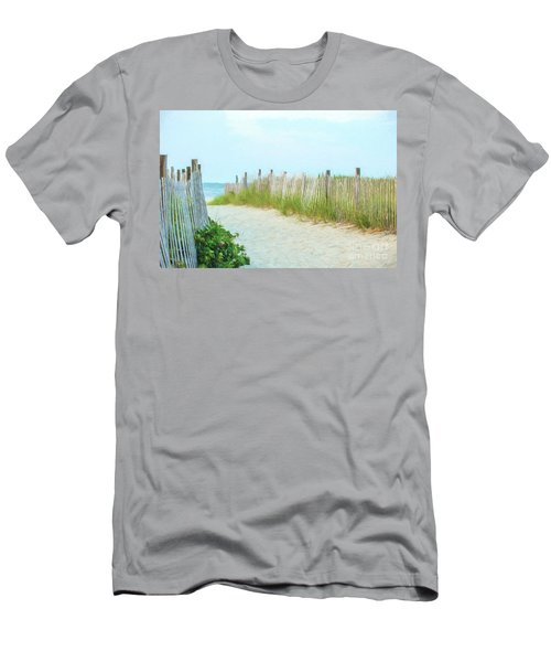 Sea Gull Beach #1 Men's T-Shirt (Athletic Fit)