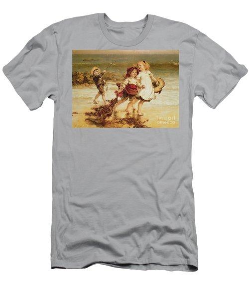 Sea Horses Men's T-Shirt (Athletic Fit)