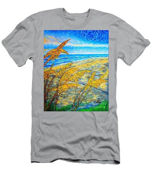 Sea Oats Dual#2 Men's T-Shirt (Athletic Fit)