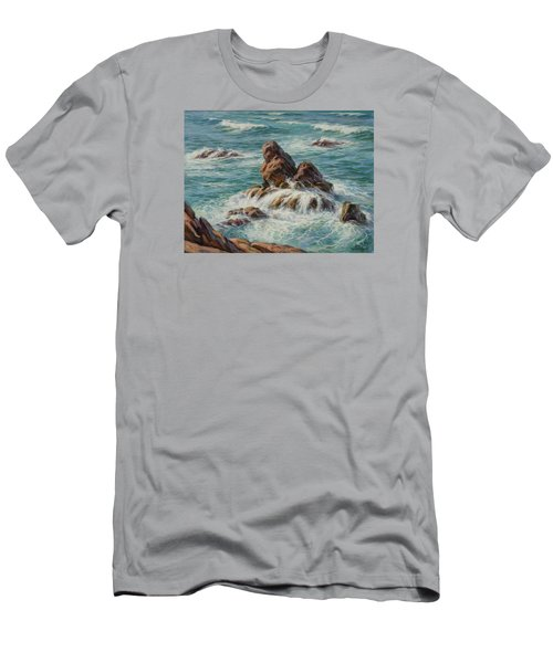 Sea Symphony. Part 3. Men's T-Shirt (Athletic Fit)