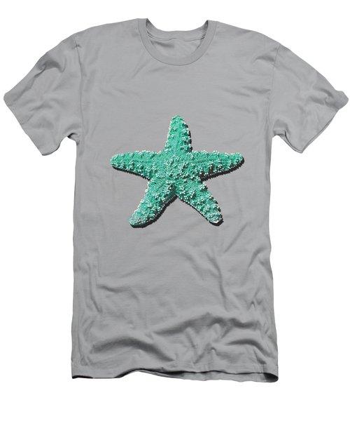 Sea Star Aqua .png Men's T-Shirt (Athletic Fit)