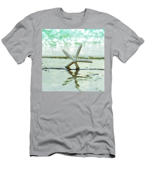 Sea Star Men's T-Shirt (Slim Fit) by Laura Fasulo