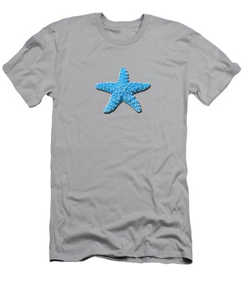 Sea Star Light Blue .png Men's T-Shirt (Athletic Fit)
