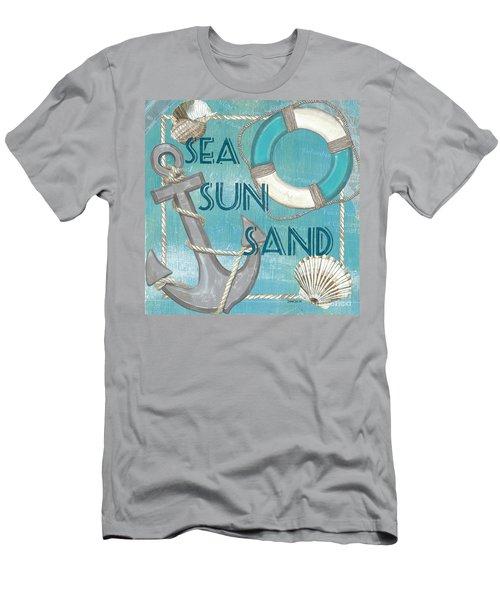 Sea Sun Sand Men's T-Shirt (Athletic Fit)