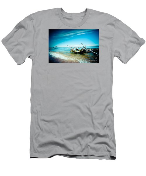 Seacost With Old Tree In Water Kolka Men's T-Shirt (Athletic Fit)