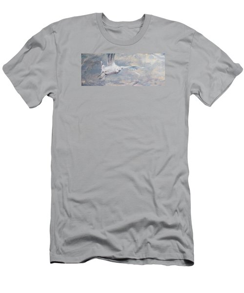 Seagull Men's T-Shirt (Slim Fit) by Vali Irina Ciobanu
