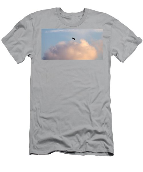 Men's T-Shirt (Slim Fit) featuring the photograph Seagull's Sky 3 by Jouko Lehto