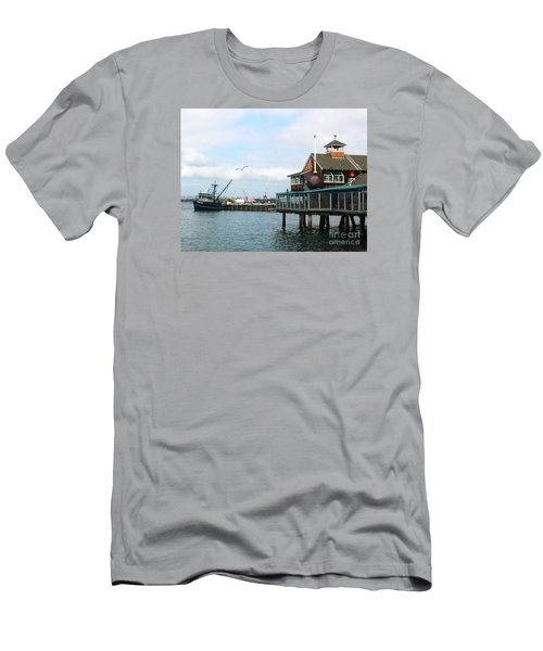 Seaport Village San Diego-2 Men's T-Shirt (Athletic Fit)