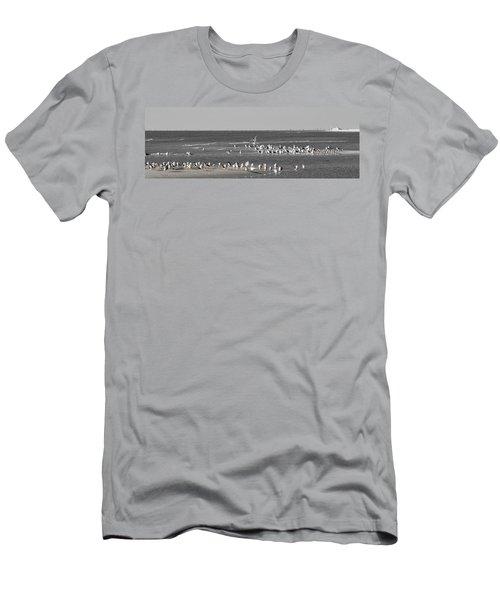 Seascape Gulf Coast, Ms F20c Men's T-Shirt (Athletic Fit)