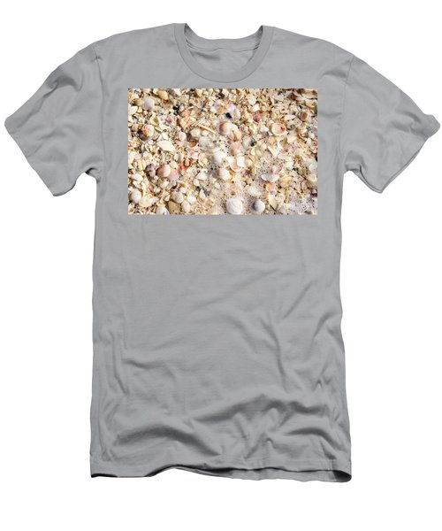 Seashells By The Seashore Men's T-Shirt (Athletic Fit)