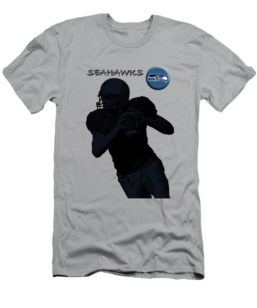 Seattle Seahawks Football Men's T-Shirt (Athletic Fit)