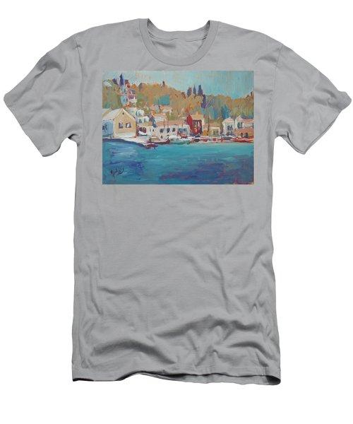 Seaview Lggos Paxos Men's T-Shirt (Athletic Fit)
