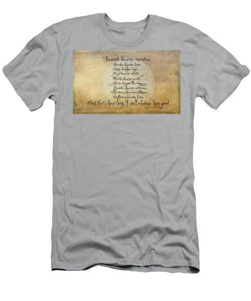 Seconds Become Eons Men's T-Shirt (Athletic Fit)