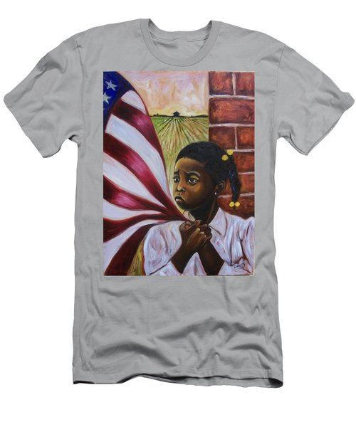 Men's T-Shirt (Slim Fit) featuring the painting See Yourself by Emery Franklin