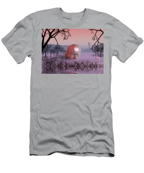 Seeking The Dying Light Of Wisdom Men's T-Shirt (Athletic Fit)