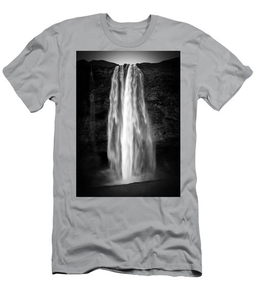 Seljalendsfoss Men's T-Shirt (Athletic Fit)