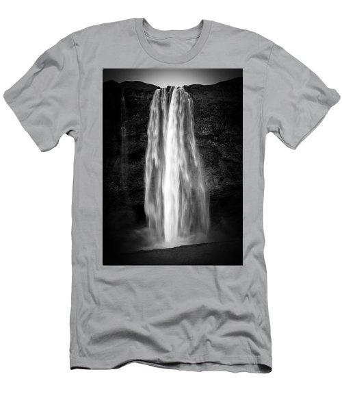 Seljalendsfoss Men's T-Shirt (Athletic Fit)