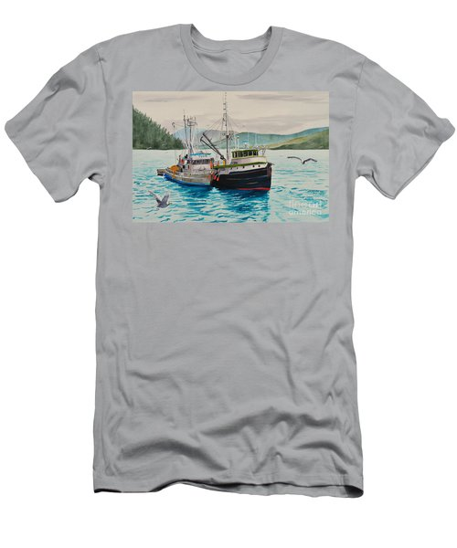 Selling Fish To Peter Pan Men's T-Shirt (Athletic Fit)