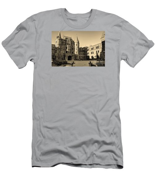 Men's T-Shirt (Slim Fit) featuring the photograph Sepia High by Chris Anderson