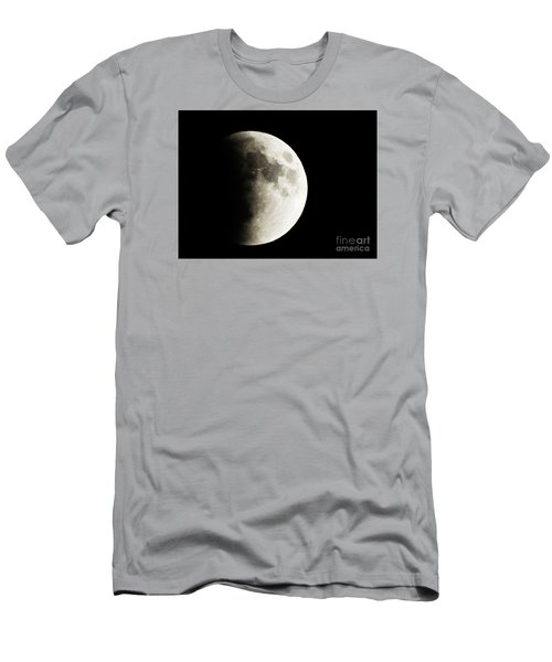 September 27,2015 Moon Eclipse  Men's T-Shirt (Slim Fit) by J L Zarek