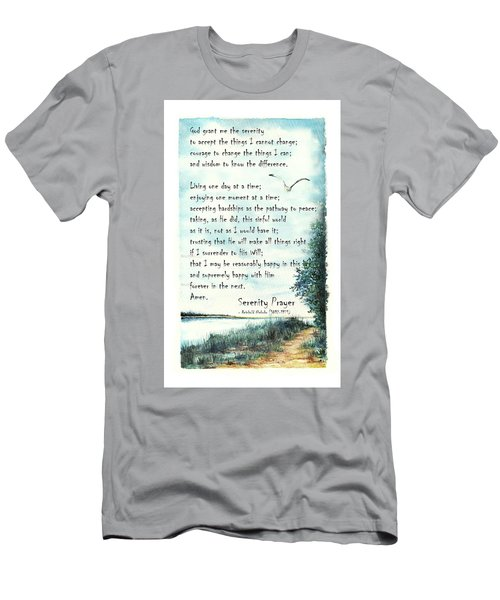 Serenity Prayer The Full Version Men's T-Shirt (Athletic Fit)