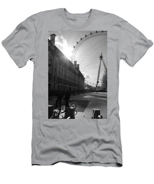 Set Of Wheels Men's T-Shirt (Athletic Fit)