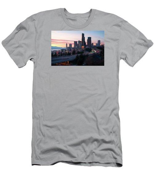 Setting Men's T-Shirt (Slim Fit) by Ryan Manuel