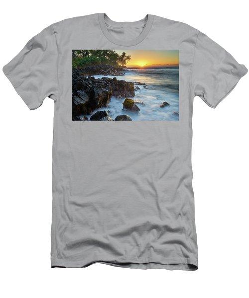 Setting Sun At Lyman's Men's T-Shirt (Athletic Fit)