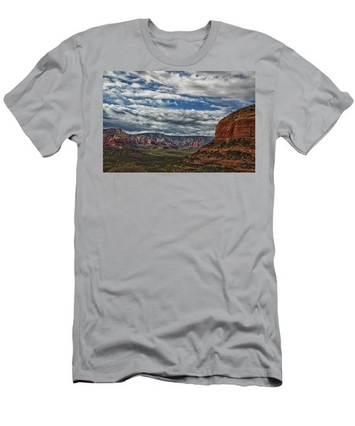 Men's T-Shirt (Slim Fit) featuring the photograph Seven Canyons by Tom Kelly