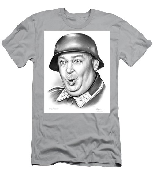Sgt Schultz Men's T-Shirt (Slim Fit) by Greg Joens