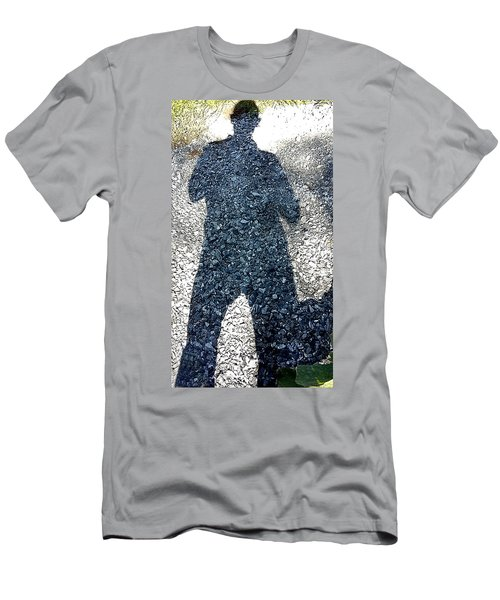 Shadow Man Men's T-Shirt (Athletic Fit)