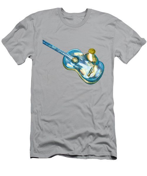 Shall Strum The Strings Unto The Lord O Men's T-Shirt (Slim Fit) by Thecla Correya