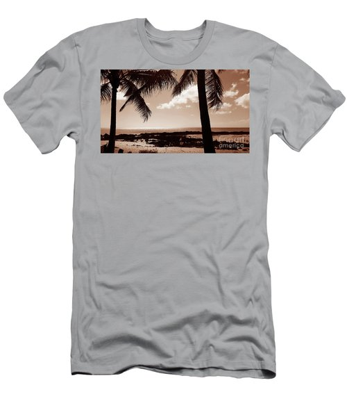 Men's T-Shirt (Slim Fit) featuring the photograph Shark's Cove by Kristine Merc