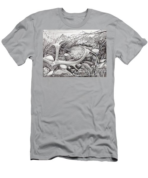 Shed Antler Men's T-Shirt (Athletic Fit)