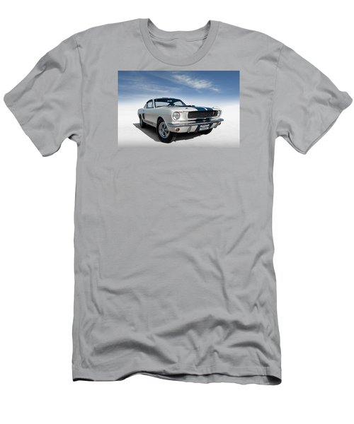 Shelby Mustang Gt350 Men's T-Shirt (Slim Fit) by Douglas Pittman