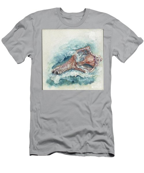 Shell Gift From The Sea Men's T-Shirt (Slim Fit) by Doris Blessington