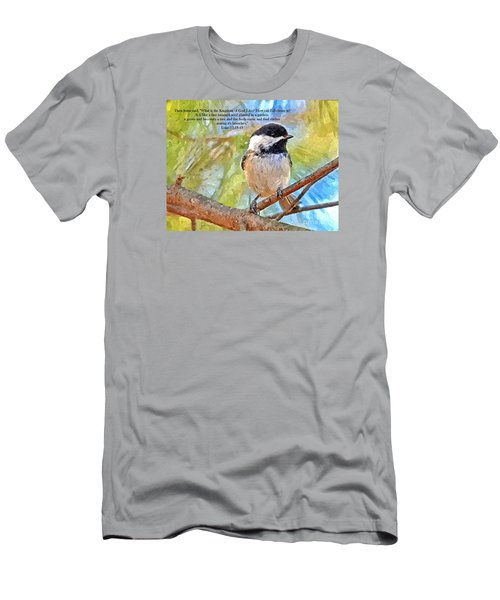 Shelter Among It's Branches Men's T-Shirt (Slim Fit) by Sara Raber